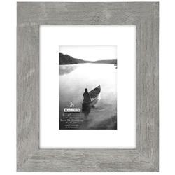 Malden-5x7 8x10 Gray Matted-Photo Frames