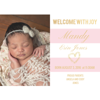 Birth Announcement 5