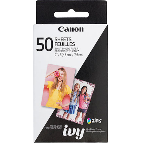 "Canon-Zink Photo Paper 2x3"" - 50 Pack-Film"