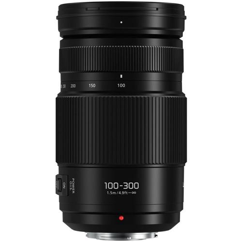 Panasonic-Lumix G Vario 100-300mm F4.0-5.6 II POWER O.I.S.-Lenses - SLR & Compact System