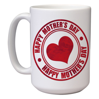 15 oz Mother's Day Mug (I)