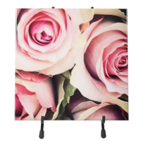 8x8 Ceramic Photo Tile with Stand