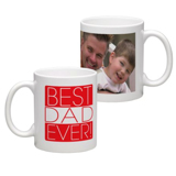 White Coffee Mug 11oz (wrap) Dad-C