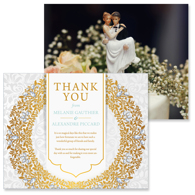 Luxury - 2 Sided Thank You