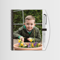 """Notebook & Pen 6""""x4"""" with Photo"""