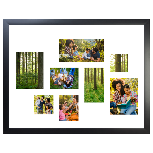 Framed Collage Print 11x14 - H