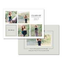 5x7  2 Sided Graduation Card (17-031)