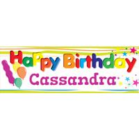 12 x 36 Happy Birthday Banner