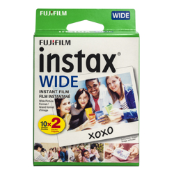 Fujifilm-Instax Wide Film - 2 Packs of 10 Sheets-Film