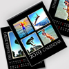 8.5 x 11 - 2019 Black Background Wall Calendar