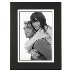 Malden-5X7 Black Linear-Photo Frames