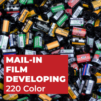 Film Developing - 220 Color C41