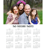 Magnetic Calendar (20-05-V)