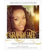 Grad Card - E
