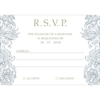 Classy - 1 Sided RSVP