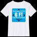 6 feet distance T-Shirt