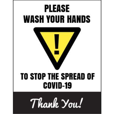 8.5 x 11 Covid-19 Poster O1