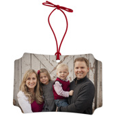 Classic Rectangle Memento Ornament