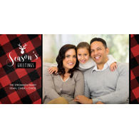 Season's Greetings Plaid