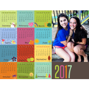 Magnet Calendar (17-02 H)