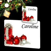 Christmas placemat & Coaster set