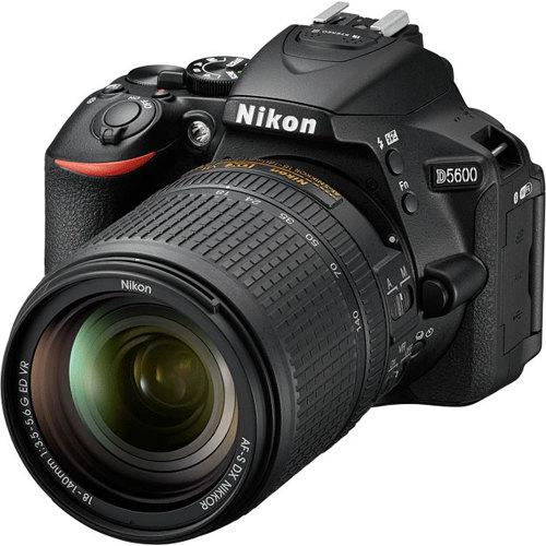 Nikon-D5600 Digital SLR Camera with AF-S 18-140mm ED VR Lens-Digital Cameras