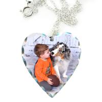 Silver Heart Lg