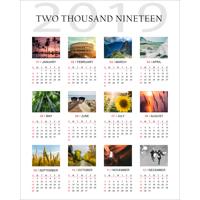 16 x 20 Poster Calendar