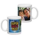 White Coffee Mug 11oz (wrap) Dad-F