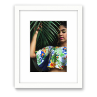 8x10 White Gallery Framed Print