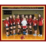 TRINITY CHRISTIAN MS VOLLEYBALL 2017 TEAM PHOTOS