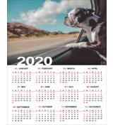 16 x 20 Poster Calendar - 2020
