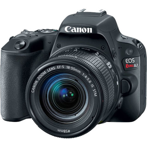 Canon-EOS Digital Rebel SL2 DSLR Camera with EF-S 18-55mm IS STM Lens-Digital Cameras