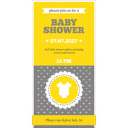 Baby Shower Card  I