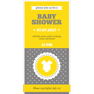 Baby Shower Card  I