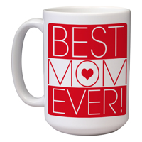 15 oz Ceramic Mom Mug (C)