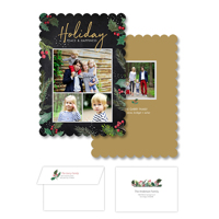 Holiday Peace<br>5x7 Scalloped<br>Envelope