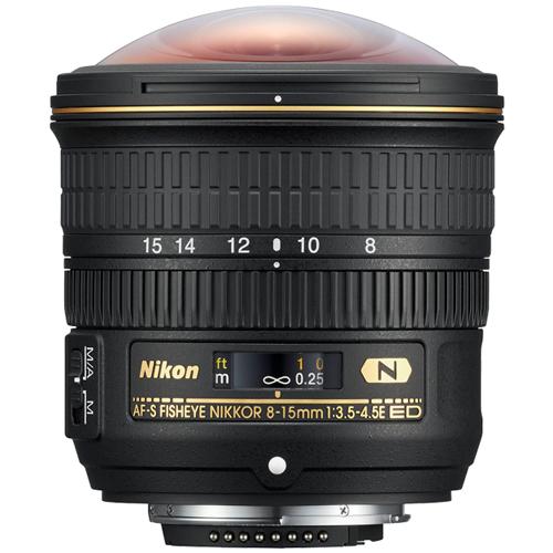 Nikon-AF-S FISHEYE NIKKOR 8-15mm f/3.5-4.5E ED-Lenses - SLR & Compact System