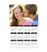 8 x 12 Poster Calendar with 1 image