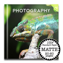 12 x 12 Matte Cover photo book / Standard 100# (20-60 Pages)