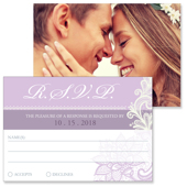 Lace A - 2 Sided RSVP