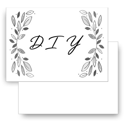 Cardstock 2 sided 5X7 Freestyle DIY