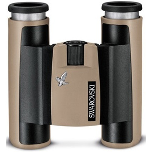 Swarovski Optik-CL Pocket 10x25 B - Sandbrown #46212-Binoculars and Scopes