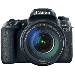 Canon-EOS 77D Digital SLR Camera with EF-S 18-135mm f3.5-5.6 IS USM Lens-Digital Cameras