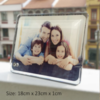 Glass Frame GF18 - 230mm x 180mm x 10mm thick