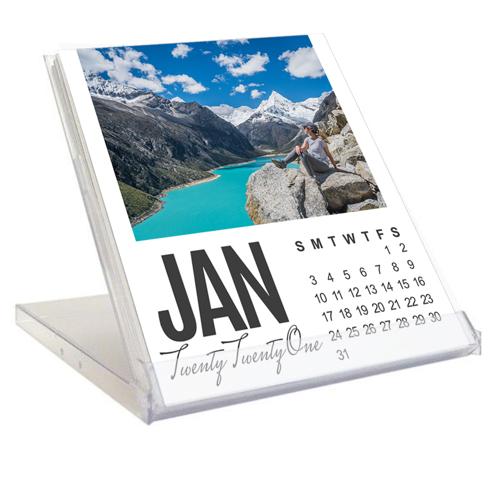 NEW - Jewel Case Calendar - 2021