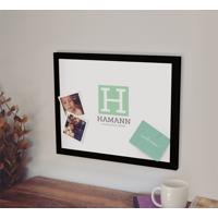 Magnetic Canvas - 16x20 (Modern Monogram)