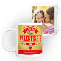 11 oz Ceramic Mug (Val B1)
