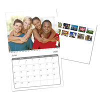 8.5x11 Calendar - 12 pictures (2020)