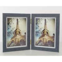 Grey Grain  Hinged 2 5x7 Prints